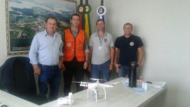 Vigilância Sanitária recebe Drone