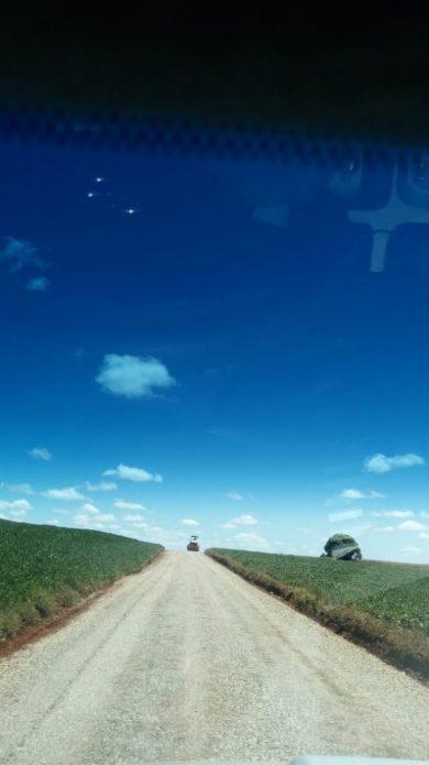 Recuperação de estradas vicinais ocorre em ritmo intenso