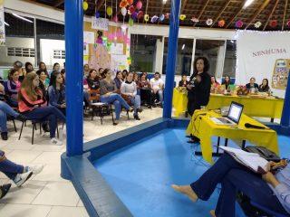 Professores de Ernestina e Tio Hugo participam de palestra sobre Educação Inclusiva