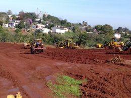 Construção do campo Municipal de Futebol 7