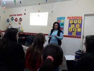 BNCC é tema de formação pedagógica dos professores de Ernestina e Tio Hugo