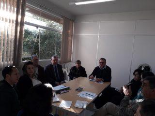 Reunião administrativa com Prefeito, vice, secretários e assessores