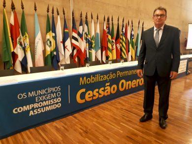 Prefeito Odir João Boehm participa de mobilização em Brasília