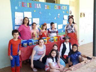 Escola João Alfredo Sachser comemora Dia das Crianças