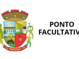 Prefeitura de Ernestina terá ponto facultativo nesta sexta (1º)