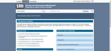 Portal da Transparência pode ser acessado pelo site do município