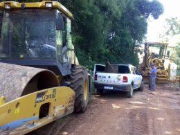 Estradas do interior seguem recebendo trabalhos de melhorias