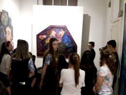 Estudantes da Escola Sachser visitam museus em Passo Fundo