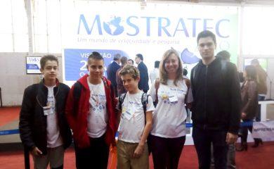 Equipe ernestinense participou da I Olimpíada Internacional de Programação com Scratch