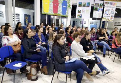 Capacitação envolveu professores da rede municipal de ensino