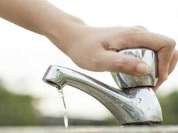 Alerta ligado para a necessidade de economizar água