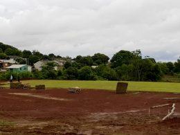 Obra do novo campo de futebol 7 é iniciada