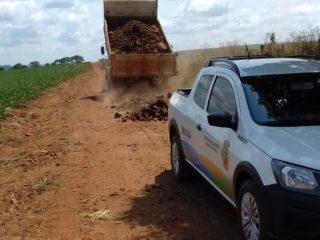 Equipe revitalizou mais de 10 km de estradas do interior em janeiro