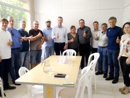 Executivo recebe visita do deputado estadual Eduardo Loureiro
