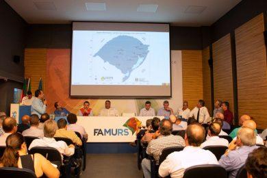 Gestores municipais gaúchos debatem medidas para reduzir os danos da falta de chuva (Crédito da imagem: Analice Bolzan/Famurs)