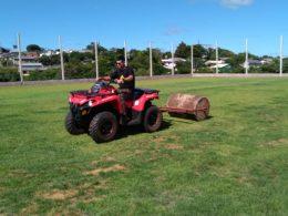 Campo Municipal de Futebol 7 segue em obras