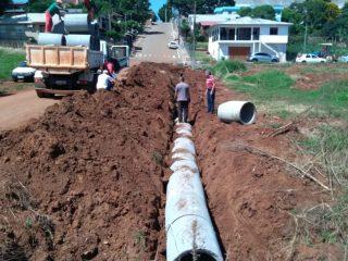 Canalização melhorará drenagem na rua da EMEI Dr. Orlando Rojas