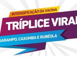 Sábado (15) é dia de vacinação tríplice viral na UBS