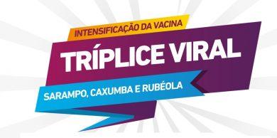 Dia D de vacinação da tríplice viral (Foto: Divulgação/Internet