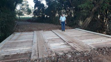 Em parceria, Ernestina e Victor Graeff reconstroem ponte na divisa