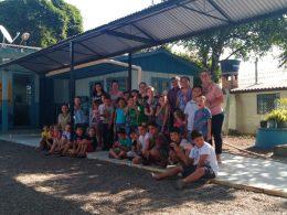 Prefeito em exercício, Arno da Silva visita nova obra na Escola Osvaldo Cruz