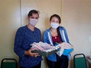 Empresária ernestinense doa máscaras para distribuição à comunidade