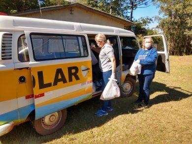 Cras iniciou a entrega nesta semana às 180 famílias contempladas pelo projeto