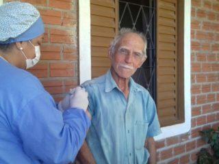 Vacinação contra a gripe contempla mais de 98% dos idosos em Ernestina