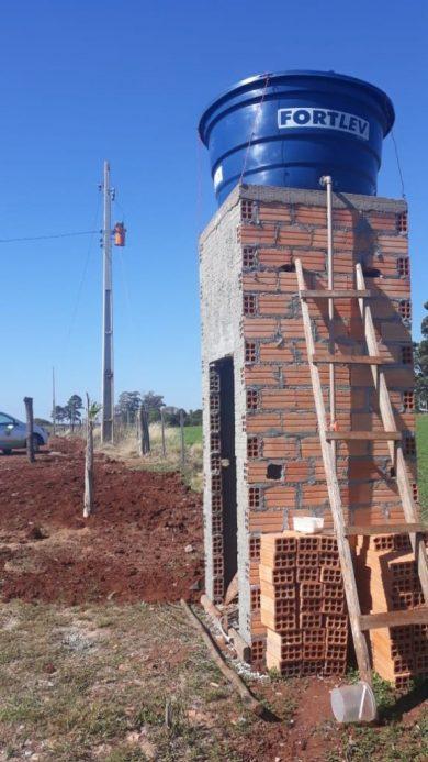 Rede de água foi reconstruída para melhorar o fornecimento às famílias da localidade
