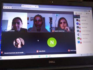 Videoconferência reúne trabalhadores da Educação