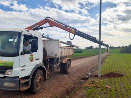 Prefeitura renova rede elétrica e melhora fornecimento de água a agricultores