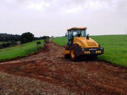Recuperação de estradas segue no Pessegueiro