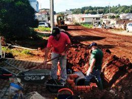 Ruas são preparadas para obras de pavimentação