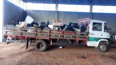 Materiais coletados receberão destino apropriado sem prejudicar o meio ambiente