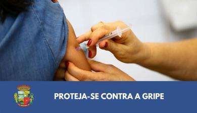 População em geral pode receber vacina contra a gripe