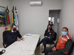 Prefeitura e Acipae alinham medidas de combate ao coronavírus