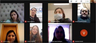 Reuniões ocorreram por plataformas digitais