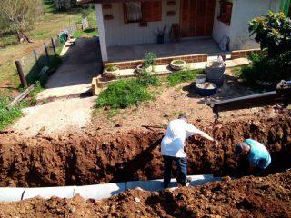 Ruas recebem sistema de drenagem pluvial em Ernestina