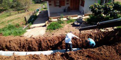 Instalação do sistema antecede obras de pavimentação