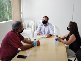 Ernestina analisa parceria para transportar trabalhadores a Italac