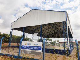 Nova quadra poliesportiva da Escola Educarte