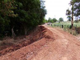 Prefeitura instala nova rede de água e melhora fornecimento
