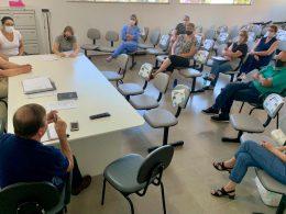 Prefeito Renato participa de reunião com Conselho Municipal de Saúde
