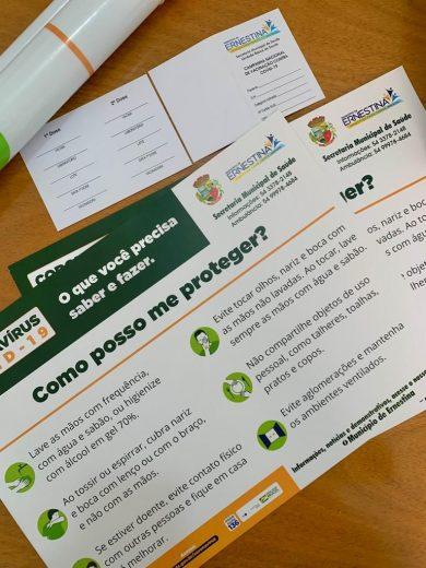 Secretaria da Saúde reforça prevenção contra COVID-19