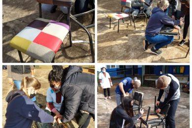 Escolas Osvaldo Cruz e João Alfredo Sachser realizam atividades sobre o tema Meio Ambiente