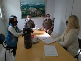 Secretaria da Educação realiza encontro com a Brigada Militar e Policia Civil para tratar do Projeto: Educação para o Trânsito