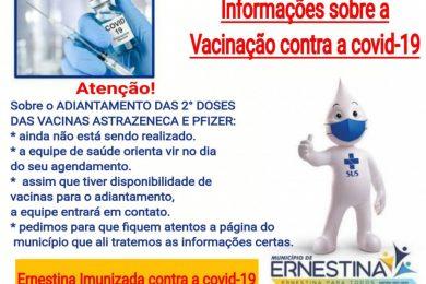 VACINAÇÃO  CONTRA COVID-19 SEGUNDA DOSE