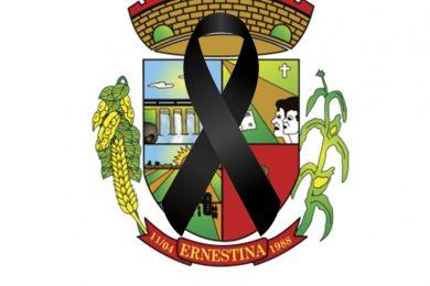 PREFEITURA DE ERNESTINA DECRETA LUTO OFICIAL, APÓS MORTE DE SECRETÁRIO DA FAZENDA.